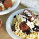 Orzo-with-Spicy-Sausage-Real-Feta-and-Olives