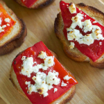 Roasted-Red-Pepper-and-Real-Feta-Toasts