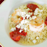 Sauteed-Shrimp-and-Roasted-Red-Tomatoes-over-Orzo-with-Real-Feta