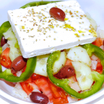 Real Greek Feta Salad