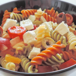 Tricolor Pasta with Real Greek Feta